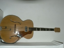 guitare vintage ancienne Kay super deluxe