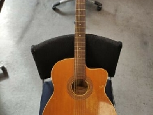Guitare manouche 40' 50' Paul Beuscher