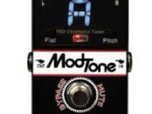 accordeur guitare Pedale modtone Tuner chromatic