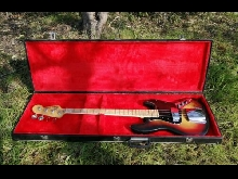 Fender Jazz Bass 1977 Sunburst - Vintage - Made In Usa
