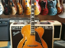 Aria FA Broadway Natural Archtop Jazz Guitar