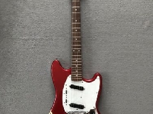 Fender Mustang 1994-95 73 CO MIJ Candy Apple Red