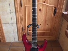 Jackson DKMG - EMG 81 - 85 Flame Red. Made in Japan - MIJ