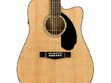 Guitarra Acustica FENDER CD-60SCE Natural