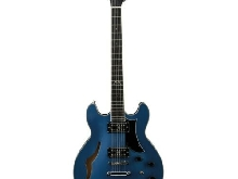 Guitare Semiacustiche Eko Mia IV Sa Blues Blue