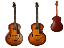 Godin 5th Avenue Cw Kingpin P90 Cognac Burst Guitare Semi-Acoustique
