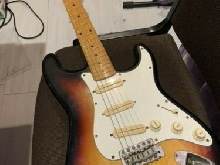Stratocaster Bill Lawrence made in Japan body