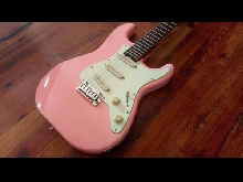Schecter Nick Johnston Traditionnal - Guitare électrique - Pink