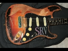FENDER CUSTOM SHOP TEXAS SPECIAL PICKUPS SET MOUNTED ON SRV NUMBER ONE REPLICA